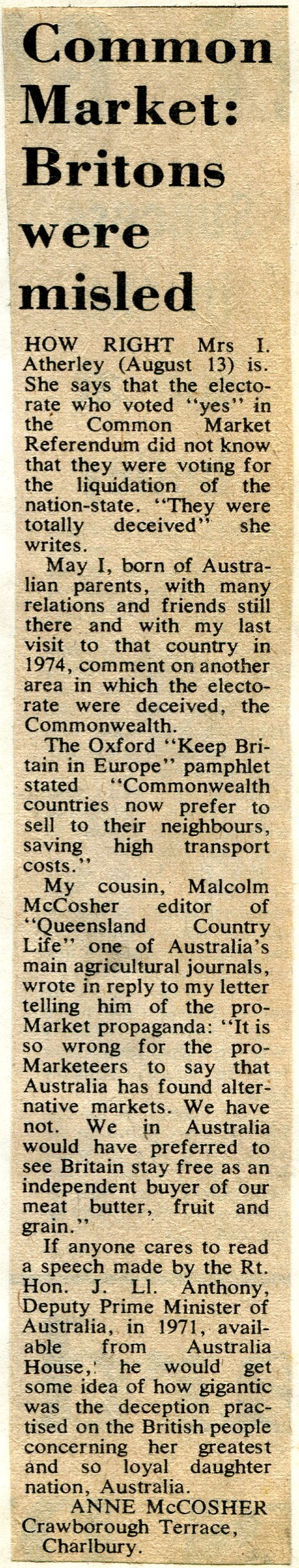 Anti EEC article 1976