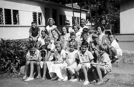 Back row;  far left, Bede Wright; second left, Geraldine Chapman; far right, Cynthia Schmidt. Second row;  first left, Eric Judd; third left, Carol Wright; far right, Robyn Broadhurst. Front row;  third left, Sue Donald.